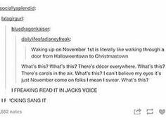 Two types of people in the world: people who sang it in Jack's voice, and liars<<< I SANG IT TOO