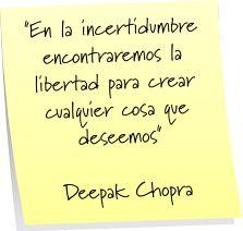 Deepak Chopra #frases #citas