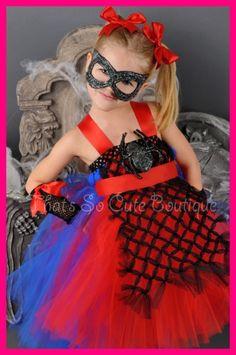 Tutu dress spiderman tutu dress spider girl costume hero costume