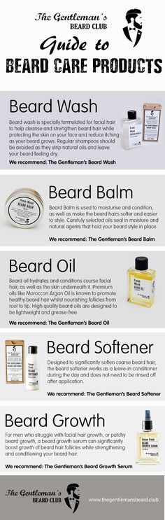 Guide to Beard Care Products Struggling with beard growth, have a question about beard oil or just want to know how to moisturise or condition your beard for a softer and healthier feel? The Gentleman's Beard Club has this easy to read Guide to Beard Care How To Grow Your Hair Faster, How To Grow Natural Hair, Beard Grooming Kits, Men's Grooming, Beard Tips, Beard Wash, Hair And Beard Styles, Beard Styles For Men, Lotion