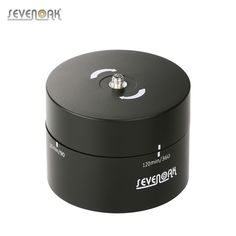 Sevenoak SK-EBH120 120 Minutes 360�� Panning Rotating Mechanical Panoramic Head Time Lapse Stabilizer with 1/4 3/8 Tripod Mount for GoPro/Action Camera Smart Phones DSLR Cameras