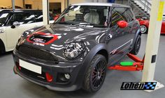 We're giggling like a bunch of school girls today as Paul Vaughan's stunning GP2 visits the Lohen workshop for a Stage 2 Manic Motorsport Ltd remap! Any guesses on bhp and torque?!  Map details here - http://www.lohen.co.uk/shop/gen-2-mini/engine-ecu/ecu-remaps/manic-motorsport-remap-stage-4-detail  #Lohen - #LohenMINI - #MINI - #GoManic