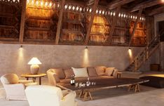 Beautiful Chalet in Swiss Alps by Axel Vervoordt | Interior Design Files