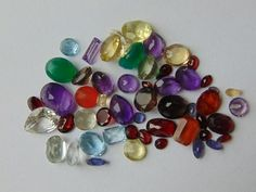 Online veilinghuis Catawiki: Lot of several gems - 100cts