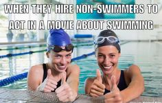 This drives me insane! They don't know what their doing (probably having a hard doing those backstroke flip turns also) Swimming Funny, I Love Swimming, Swimming Diving, Swimming Tips, Funny Basketball Pictures, Swimmer Memes, Swimmer Problems, Girl Problems, Swimming Pictures