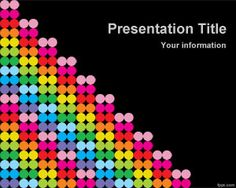 Free Color Dots PowerPoint Template