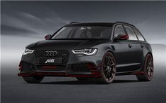 ABT Sportsline Audi RS6 R 2014 Car Pics ABT Sportsline has released details of its all-new tuning package for the Audi RS6. With this tuning kit, the customized Audi RS6 would deliver 730 hp of power and reach a top speed of 320 kmph ( 198 mph).