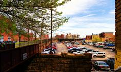 Panorama 1558_blended_fused small | Reading Viaduct Noble St… | Flickr - http://ehood.us/4bQ  Reading Viaduct Noble Street above 13th Street Philadelphia, PA Copyright © 2012, Bob Bruhin. All rights reserved. (via bruhinb.deviantart.com/art/Panorama-1558-blended-fused-36…)