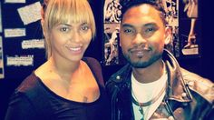 The Thrill! Beyonce Hits The Studio With Miguel (PHOTOS)