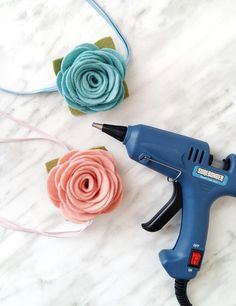 Easy Rolled Flower Tutorial with Pattern