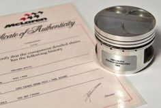 There's some wonderful stuff amongst the offerings, including this piston used in the 1983...