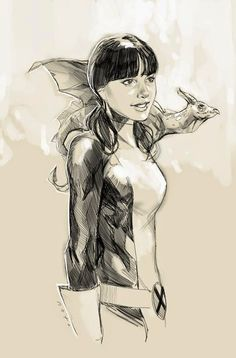 Universo HQ: LINCE NEGRA ( X-MEN)