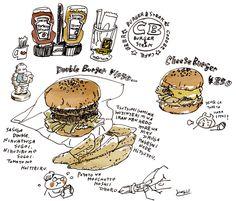 ハンバーガーのバンズの画像:週間山崎絵日和
