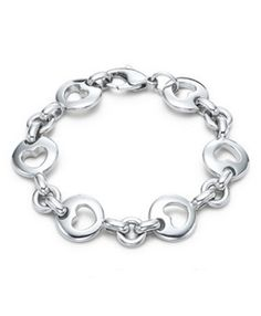 Tiffany  Co Outlet Middle Heart Bracelet