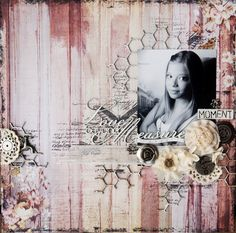 Love beyond measure scrapbook layout with ScrapFx