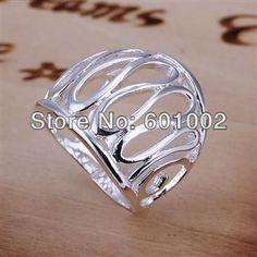 SIZE 8# BIG sale ! Free Shipping Wholesale 925 silver fashion RING  bvya knfa teoa LQ-R059 US $2.35