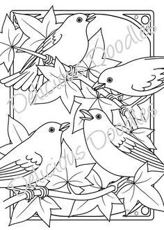 Delicious Doodles Shop: bird