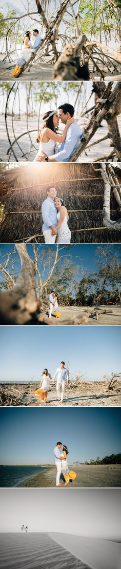 Sessão de casal no Mangue Seco em Jericoacoara. Engagement session by Arthur Rosa.