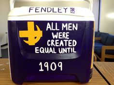 My lambda chi alpha cooler