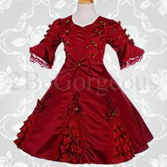 victorian dresses for little girls | What do you think of these flower girl dresses