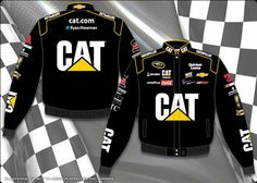 Product ID: RNO303-CT14-BLK #31 Ryan Newman 2014 Caterpillar Embroidered Officially Licensed Men's NASCAR® Jackets by JH Design® for more #31 Ryan Newman fan gear visit www.nascarshopping.net #nascar #raceday #nascargear #RichardChildressRacing #RCR #jackets