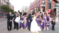 San Diego Gas Lamp Wedding