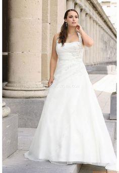 V-Ausschnitt  Brautkleider 2014