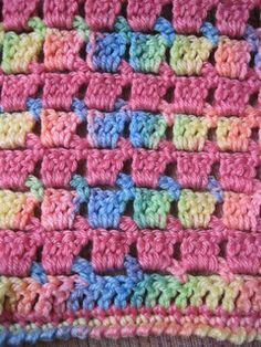 Block-stitch Blanket