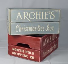 Hey, I found this really awesome Etsy listing at https://www.etsy.com/uk/listing/475044891/personalised-vintage-christmas-eve-crate