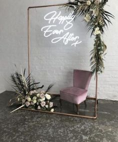 Neon wedding signs are the brightest and boldest wedding . - Neon wedding signs are Elegant Wedding, Rustic Wedding, Dream Wedding, Wedding Day, Wedding White, Wedding House, Trendy Wedding, House Party, Wedding Flowers