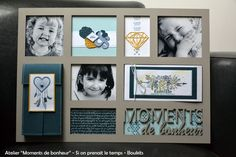 Mise en vente cadre XXL « Moment de bonheur  | «Si on prenait le temps.../3-12-2017 Kit, Home And Deco, Moment, Frame, Boutique, Home Decor, Bonheur, Tutorials, Frames
