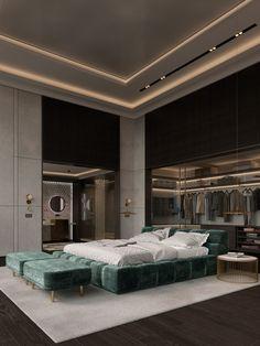 Master Bedroom Design, Modern Bedroom, Bedroom Designs, Dream Bedroom, Bedroom Ideas, Interior Design Companies, Home Interior Design, Luxurious Bedrooms, Luxury Bedrooms