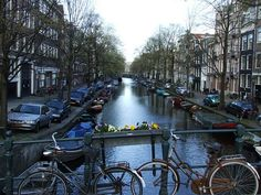 Eglantiersgracht (the canal I lived on in Amsterdam).