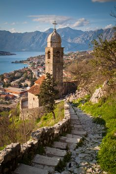 Hiking this beautiful medieval European city... Kotor, Montenegro