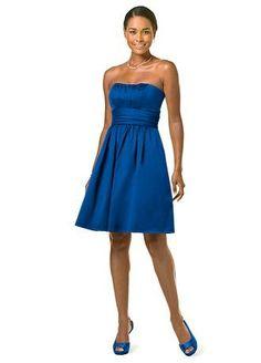 horizon blue bridesmaids - Wedding - Pinterest - Davids Bridal ...