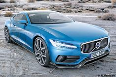 Volvo Coupe illustration