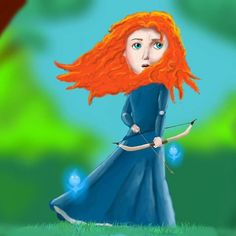 """You Are Brave"" Finally  #draw #drawing #art #disney #pixar #disneypixar #brave #merida #youarebrave #disneyart #disneyarts #digitalart #disneyfan #disneyfanart #fanart #infinite_painter #infinitepainterapp #infinite_painter_app #infinitepainter #Fatimasketch #Fatima_sketch #draws #drawings #arts #fairytales"
