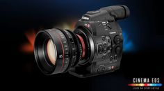 Official Canon Europe resource for Cinema EOS range.