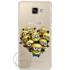 Minions, Cat, Mickey & Minnie, Kiss Hard Case Cover For Samsung Galaxy