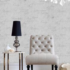 Graham and Brown Grasscloth Cream Wallpaper White And Silver Wallpaper, Cream Wallpaper, Plain Wallpaper, Vinyl Wallpaper, Textured Wallpaper, Wallpaper Grasscloth, Accent Wallpaper, Brown Wallpaper, Geometric Wallpaper