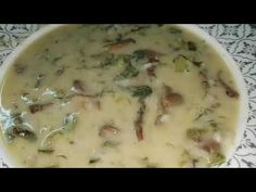 Greek Recipes, Tasty Dishes, Cheeseburger Chowder, Stew, Food And Drink, Vegan, Cooking, Youtube, Curries