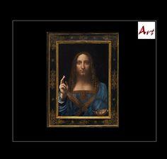 """SOLD, 450.000.000,-- DOLLAR: Salvator Mundi """"Erlöser der Welt"""" um 1500 datiert, wird Leonardo da Vinci zugeschrieben und ist nun das teuerste Bild aller Zeiten. Wer bietet mehr 😆 ? Museum, Magazine Art, Mona Lisa, Artwork, Art, Most Expensive, Culture, Art Ideas, Art Work"""