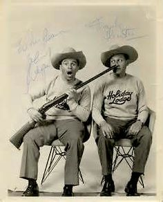 Wayne and Shuster were a Canadian comedy duo formed by Johnny Wayne and Frank Shuster. They were active professionally from the early 1940s until the late 1980s. Wayne and Shuster were well known in Canada, and were Ed Sullivan's most frequently recurring guests, appearing a record 67 times on his show. Canadian People, I Am Canadian, Canadian Bacon, Canadian History, Ontario, Toronto, Canadian Forest, Capital Of Canada, Comedy Duos