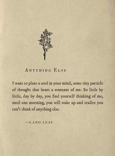 Anything else...