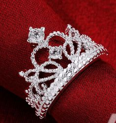Princess Crown Ring http://myshinies.com/products/crown-ring?variant=8302872963