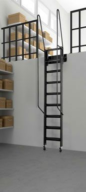 Pull Out Metal And Wood Attic Ladder   PRESTIGE   Bruge Valé | Mel |  Pinterest | Metals, Ladder And Attic Ladder