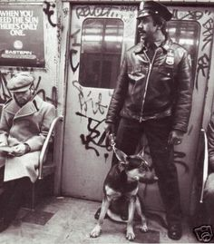 NYC. At subway, 80s . Cleanness and friendly, welcoming atmosphere.