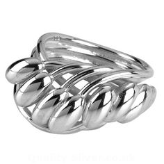 Tianguis Jackson Silver Strand and Bead Ring