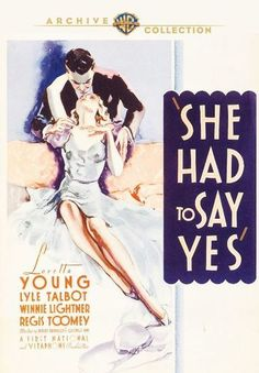 She Had to Say Yes [DVD] [1933]