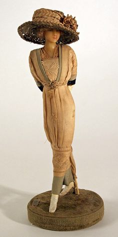 Lafitte Desirat Wax Fashion Doll - 1911 - 1916
